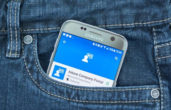 Microsoft Intune - Handy in Hosentasche