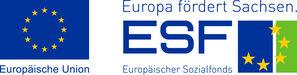 Logo ESF Europa fördert Sachsen