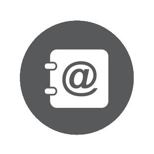 Kontakt E-Mail Icon