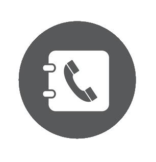 Icon Kontakt Telefon