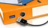 Megamenü IT Geschäftsprozesse Ordner Kabel