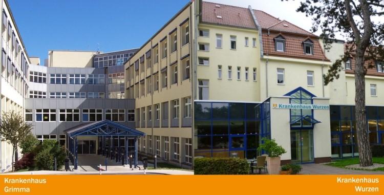 Gebäude der Muldentalklinik